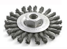 KNOTTED WHEEL-CABLE TWIST