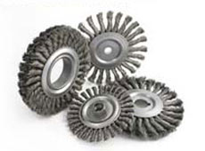 Knotted Wire Wheel Brushes