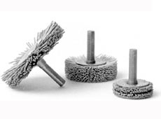 ABRASIVE NYLON MANDREL MOUNTED - STANDARD