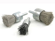 ABRASIVE NYLON END