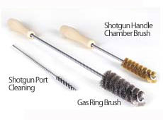 SHOTGUN CLEANING BRUSHES