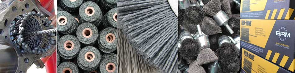 Diameter 101 mm 180 Grit Size GBD Series Brush Research FLEX-HONE Cylinder Hone Silicon Carbide Abrasive 4